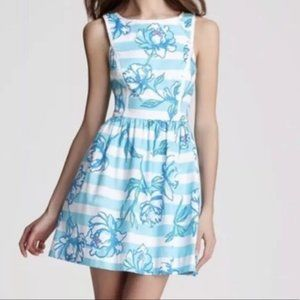 Lilly Pulitzer Sandrine dress Shirley blue size 6